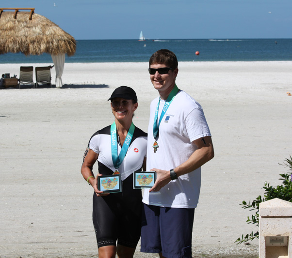 CEC employees participating in the Marco Island Triathlon benefitting Grace Place for Children and Families